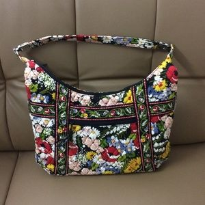 NWOT Vera Bradley Small Shoulder Bag Poppy Fields